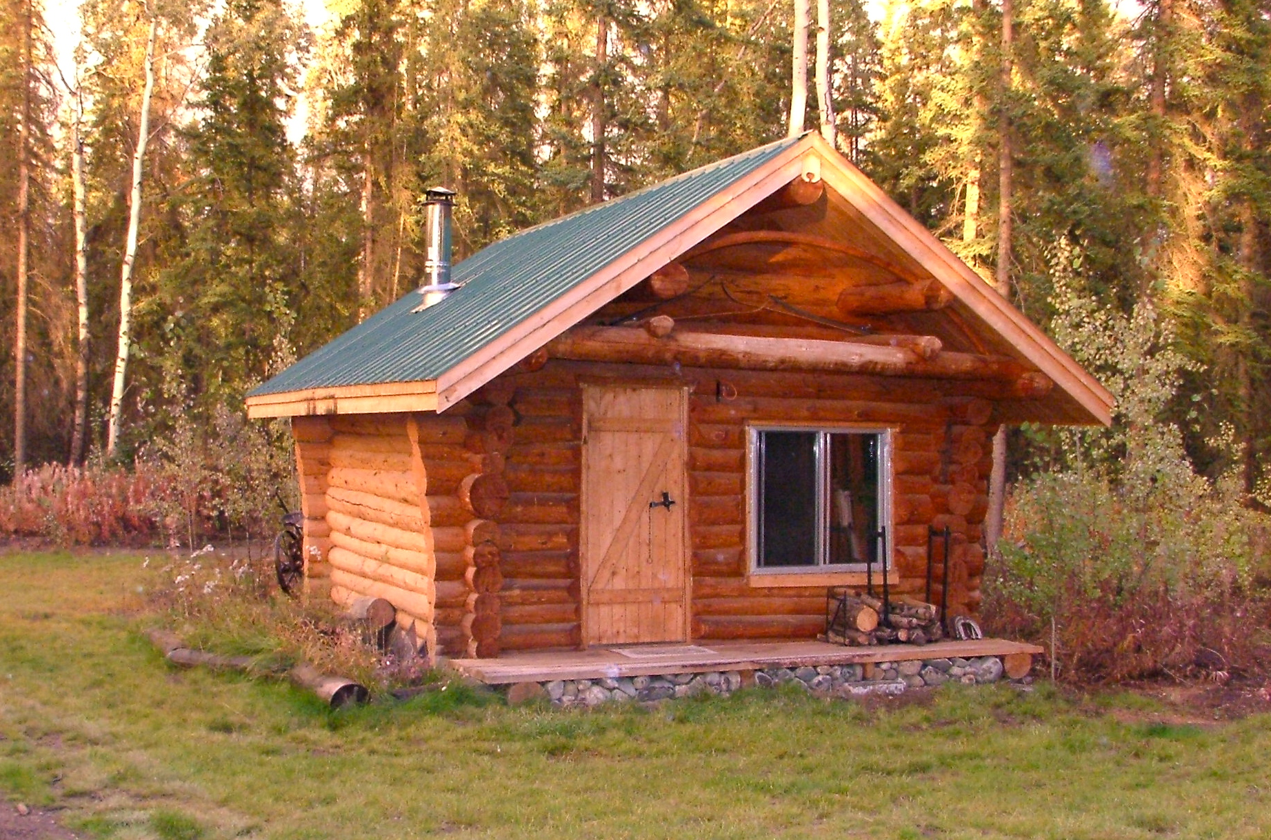 My Cozy 12 X 16 Foot Log Cabin Micro Mansions Blog